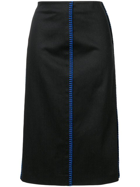 Fendi Fitted Pencil Skirt - Farfetch