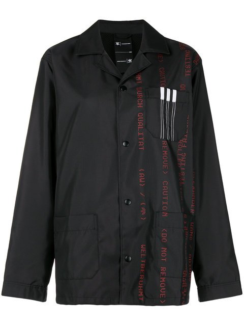 Adidas Originals By Alexander Wang Printed Canvas Jacket - Farfetch