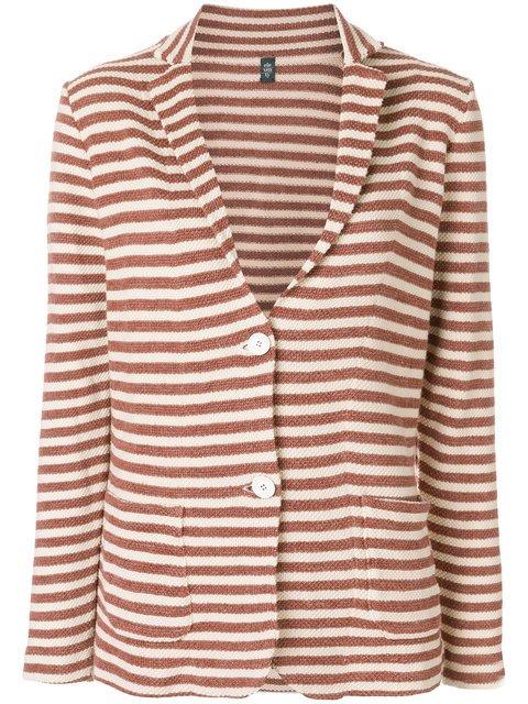 Eleventy Striped Blazer - Farfetch
