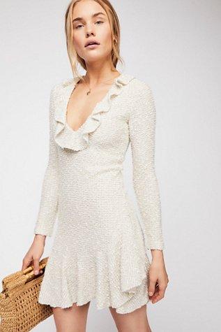 Aimee Frill Collar Bodycon Dress
