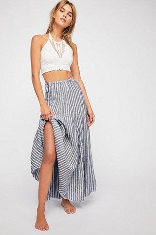Lily Linen Maxi Skirt