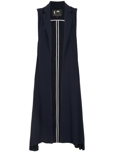 Comme Moi Long Fitted Vest - Farfetch