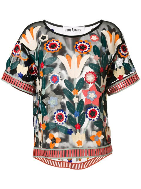 Caban Romantic St. Tropez T-shirt - Farfetch