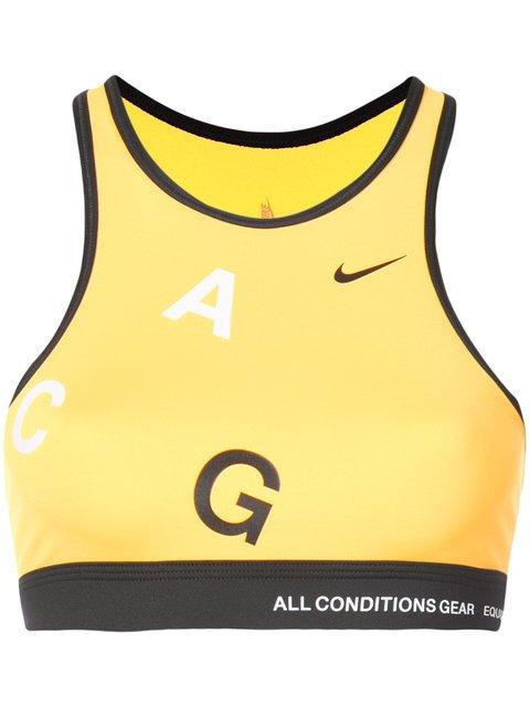 Nike NikeLab ACG Light Support Sports Bra - Farfetch