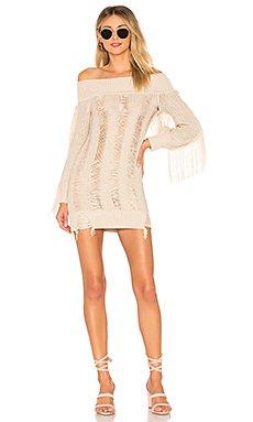 Selena Sweater Dress                                             Tularosa