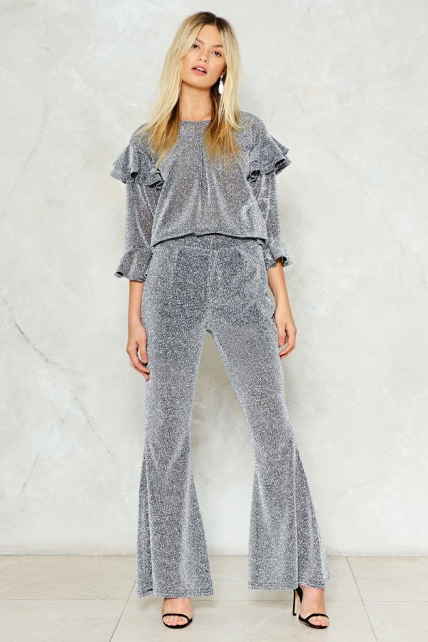 Are We Sheer On This Flare Pants