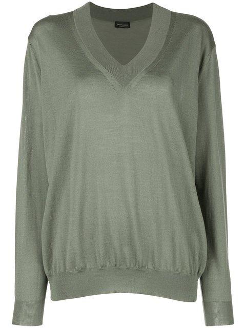 Roberto Collina Loose Fit Sweatshirt - Farfetch