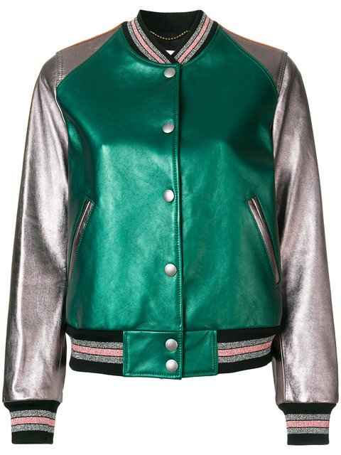 Coach Leather Bomber Jacket - Farfetch