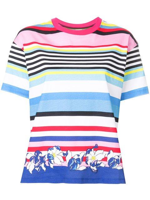 Ps By Paul Smith Multi-stripe T-shirt - Farfetch