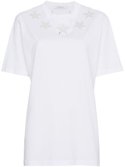 Givenchy Star Collar T-shirt - Farfetch