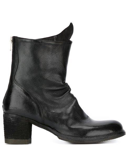 Officine Creative Chunky Heel Boots - Farfetch