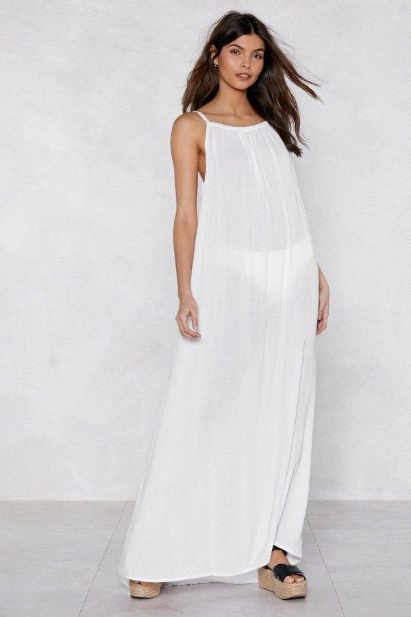 A Long Shot Cover-Up Dress
