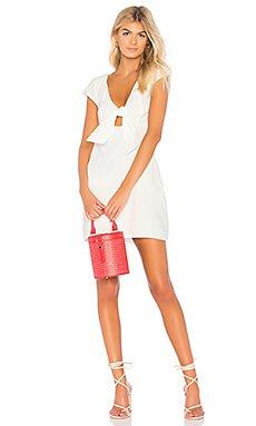 Tie Front Sweetheart Dress                                             MINKPINK