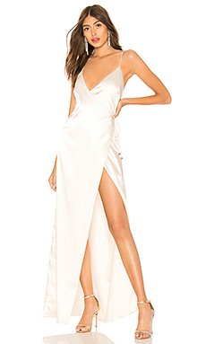Coco High Slit Maxi Dress                                             About Us