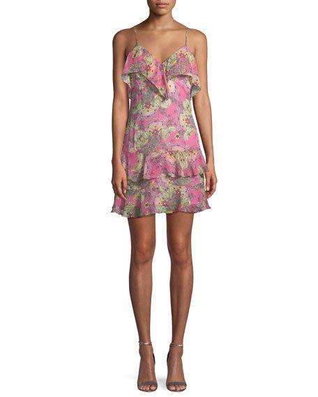 Bailey 44 Day Dream Printed Ruffle Dress