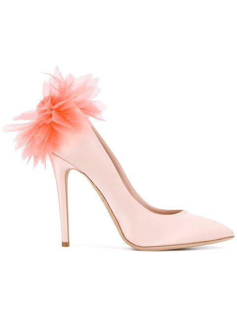 Olgana Feathered Pumps  - Farfetch