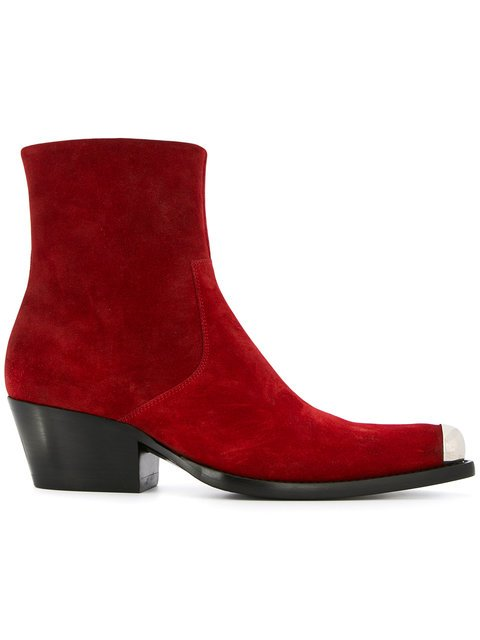 Calvin Klein 205W39nyc Western Ankle Boots  - Farfetch