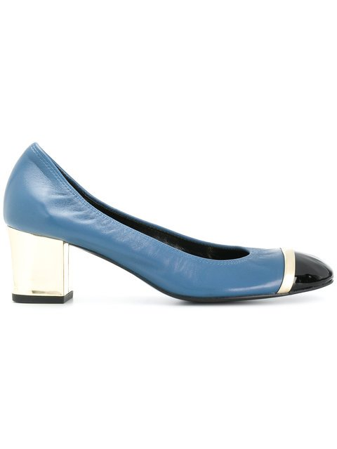 Lanvin Colour Block Pumps - Farfetch