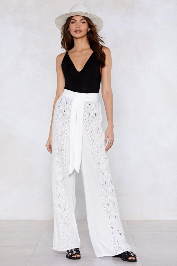 Summer Breeze Wide-Leg Pants