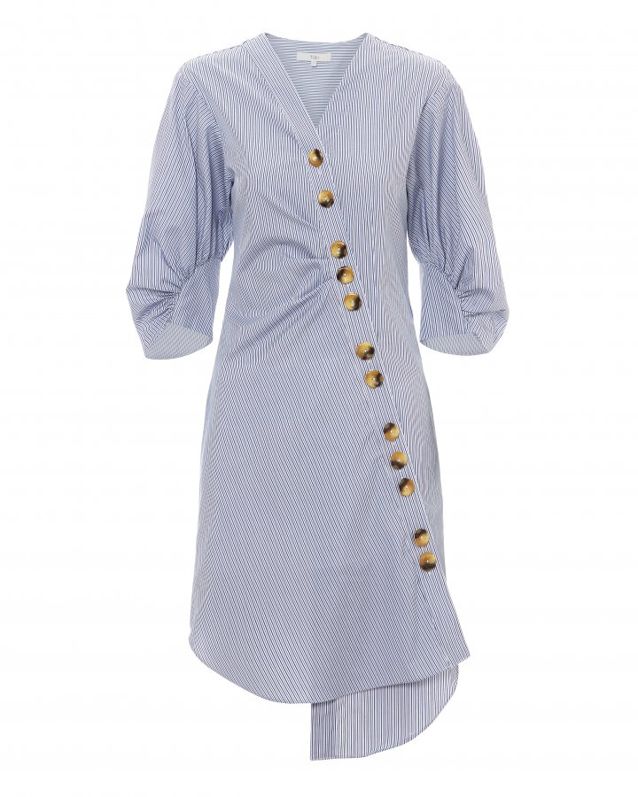 Jones Asymmetrical Shirtdress