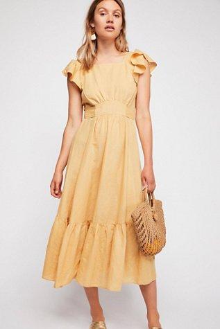Takin' A Chance Midi Dress