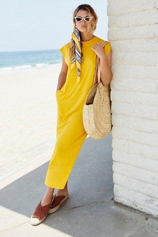 All Day Long Midi Dress