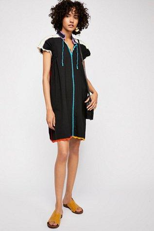 Rainbow Oaxaca Mini Dress