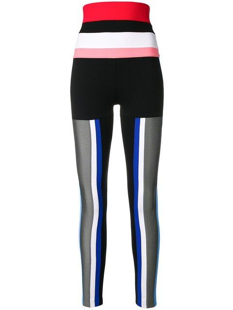 No Ka\' Oi Striped Detail Sports Leggings - Farfetch