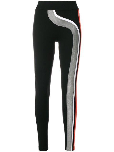 No Ka\' Oi Contrast Stripe Detail Sports Leggings - Farfetch