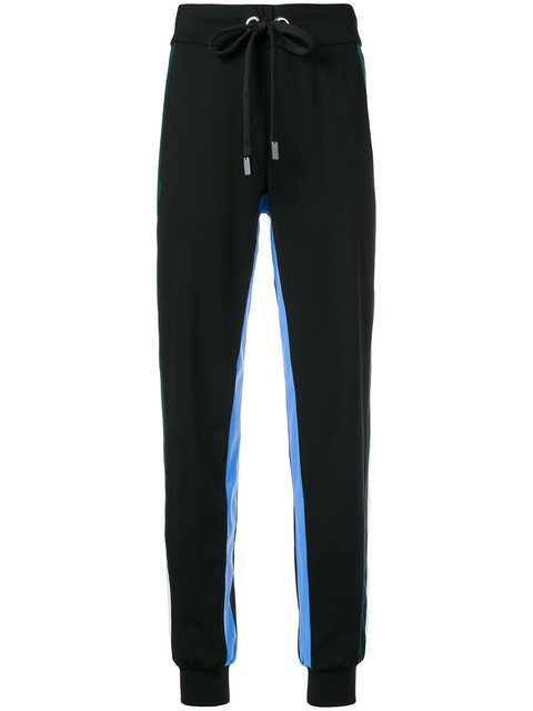 No Ka\' Oi Stripe Trim Tapered Tracksuit Bottoms - Farfetch