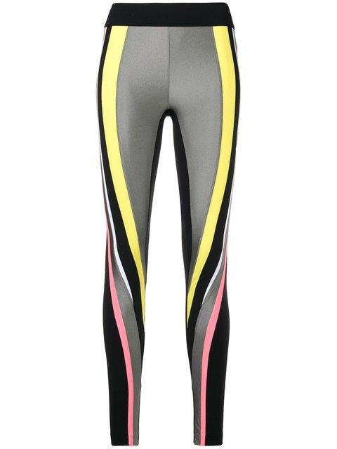 No Ka\' Oi Striped Sports Leggings - Farfetch