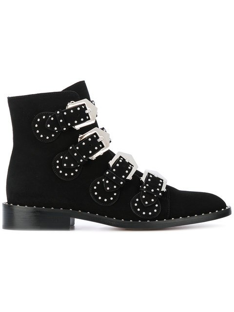 Givenchy Studded Ankle Boots - Farfetch