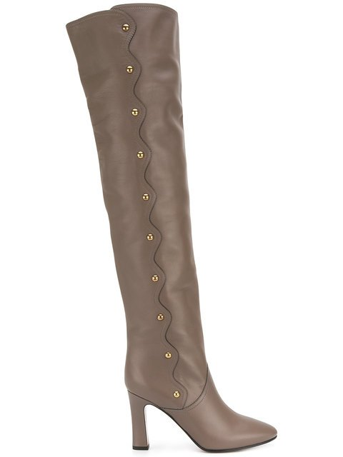 Chloé Quaylee Over-the-knee Boots - Farfetch