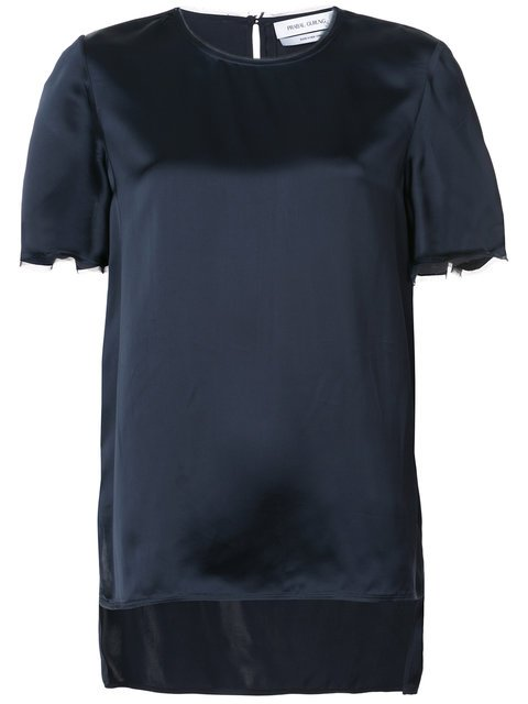 Prabal Gurung Short-sleeve Shift Blouse - Farfetch