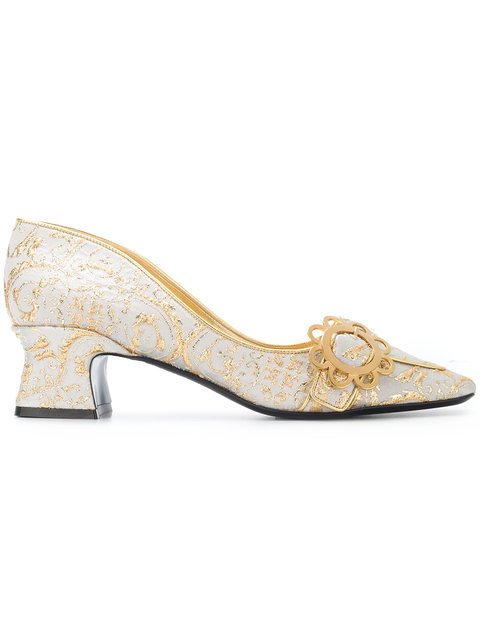 Fabrizio Viti Brocade Pumps - Farfetch