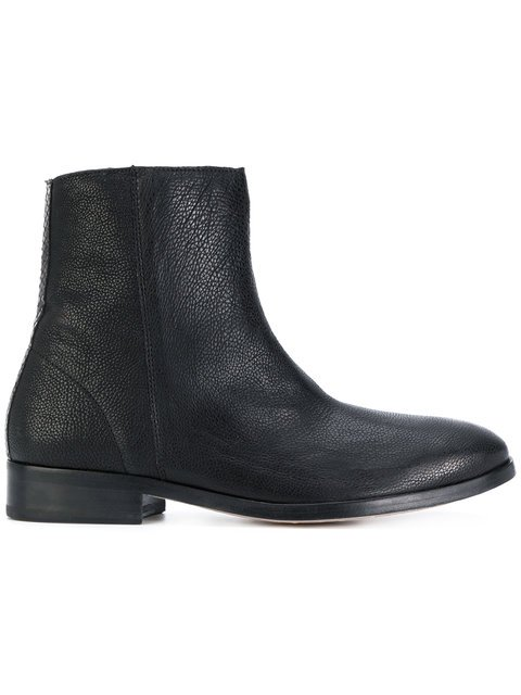 Ps By Paul Smith Flat Ankle Boots - Farfetch
