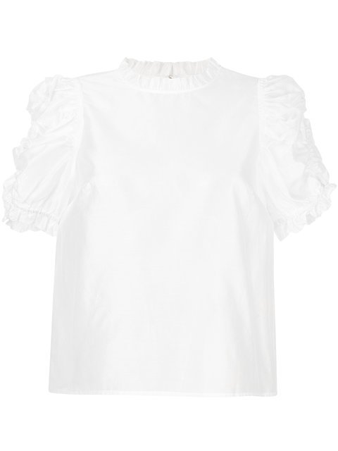 Ulla Johnson Wesley Gathered Top - Farfetch