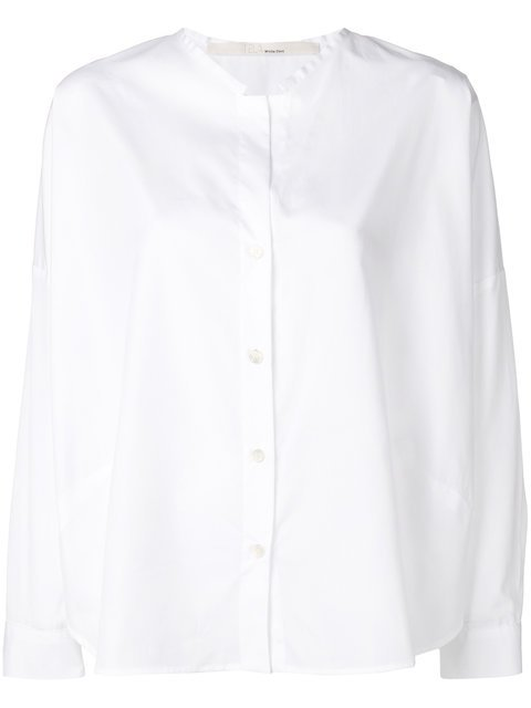 Tela Collarless Long-sleeve Shirt - Farfetch