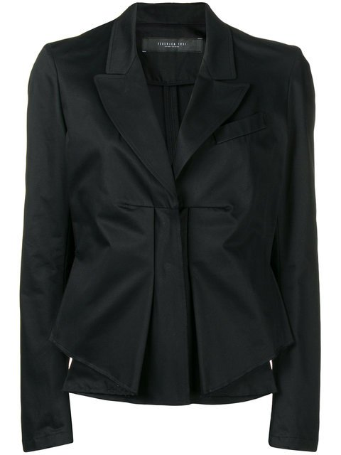 Federica Tosi Gathered Detail Fitted Jacket - Farfetch