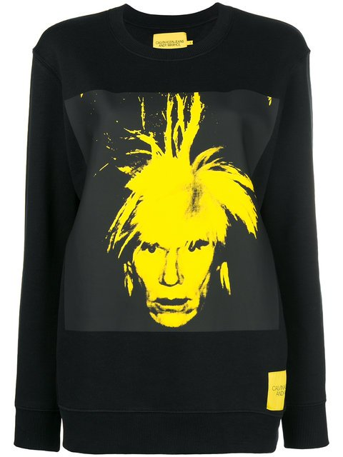 Calvin Klein Jeans Andy Warhol Print Sweatshirt - Farfetch