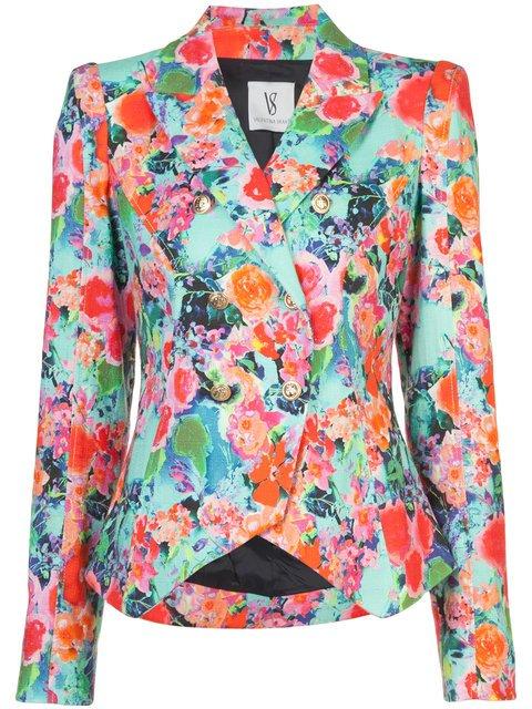 Valentina Shah Floral Print Blazer - Farfetch