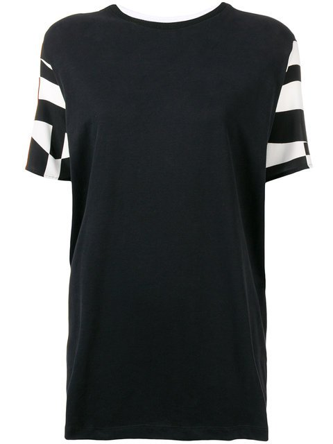 Federica Tosi Contrast Pattern T-shirt - Farfetch
