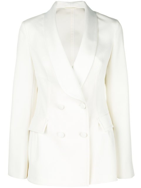Ermanno Scervino Double Breasted Jacket - Farfetch