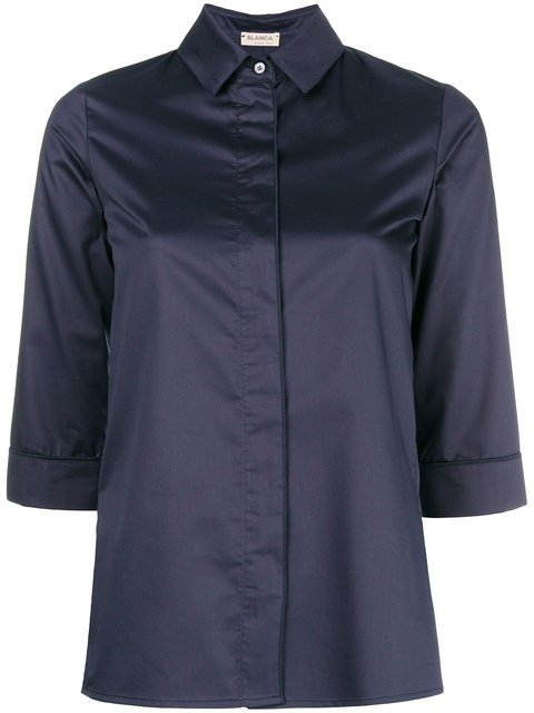 Blanca Three-quarter Sleeved Shirt - Farfetch