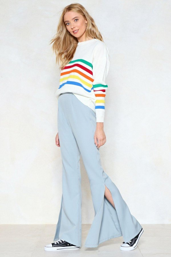 Take Flare of Yourself High-Waisted Pants