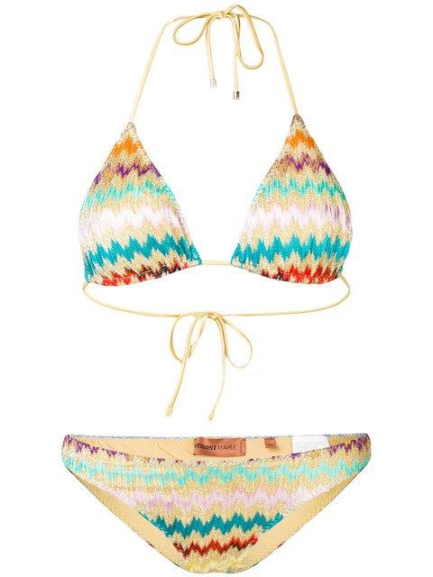 Zig-zag Print Bikini