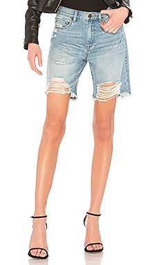 High Rise Tapered Shorts                                             BLANKNYC