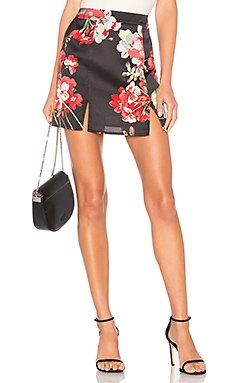 Cordilla Slit Mini Skirt                                             by the way.