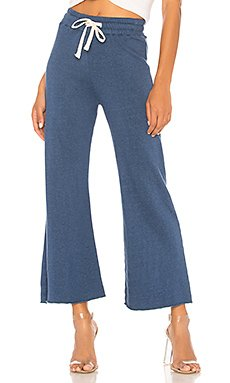 High Waisted Flare Sweatpants                                             MONROW