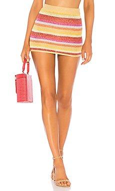 Sunset Sweater Skirt                                             Lovers + Friends